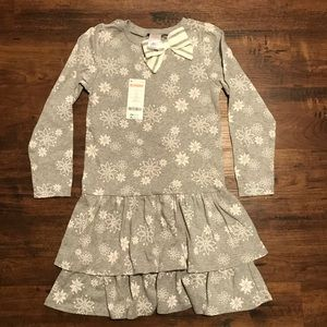 NWT Girls size 7 Snowflake dress Gymboree